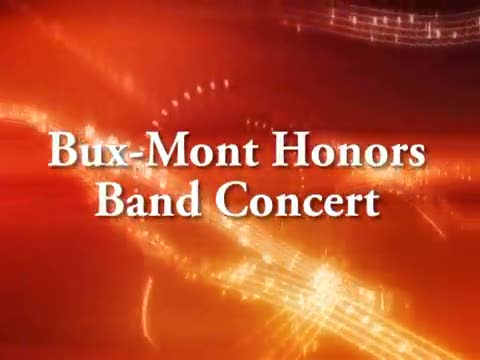 Bux-Mont Honors Band Concert 1/30/15