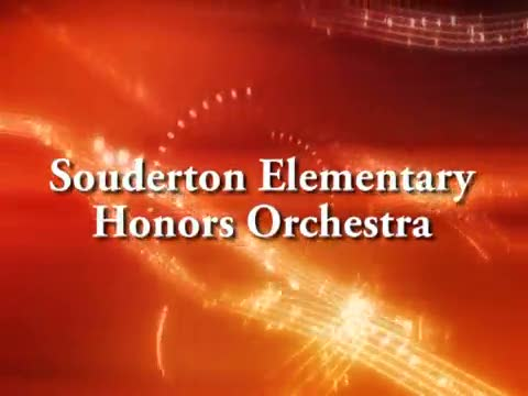 Souderton Elementary Honors Orchestra Concert 1/28/15
