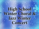 High School Winter Choral and Jazz Concert