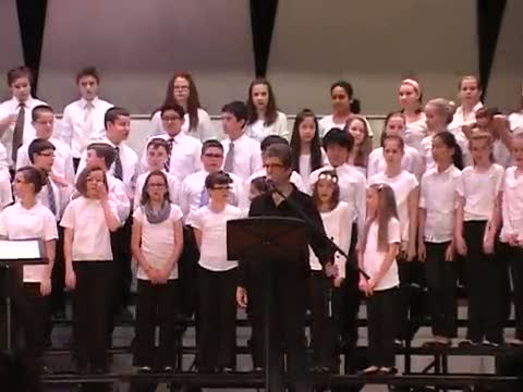 Indian Valley 6th Grade Spring Choral Concert 5/4/15