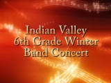 Indian Valley 6th Grade Band Concert