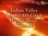 Indian Valley 7th and 8th Grade Band Concert