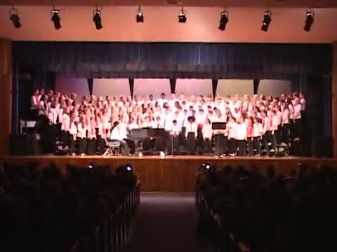 Indian Valley 7th and 8th Grade Choral Concert 5/5/15