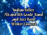 Indian Valley 7th and 8th Grade Band and Jazz Band Winter Concert